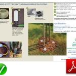 Tree Ventilation and Irrigation Information