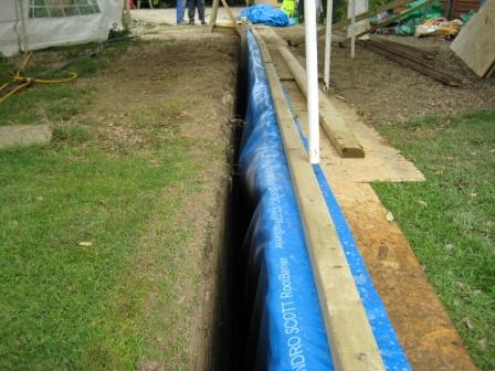 Residential Use Root Barriers
