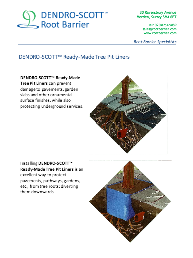 DENDRO-SCOTT Ready-made tree-pit liners PDF